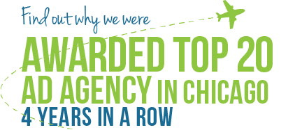 Find Out Why We Were Awarded Top 21 Ad Agency In Chicago