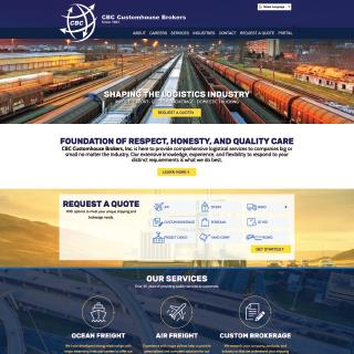 CBC Shipping and Brokerage Website