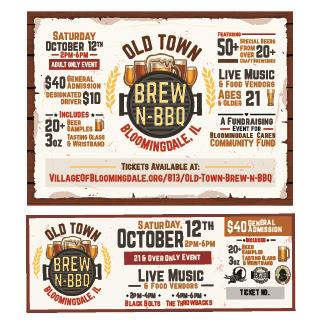 Brew N' BBQ Event Campaign