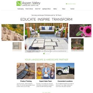 Aspen Valley Landscape Supply Inc. - Website