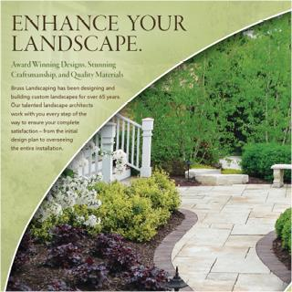 Bruss Landscaping Print Ad