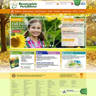 Bloomingdale Park District - Website