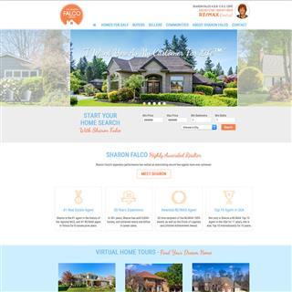 The Sharon Falco Group Website