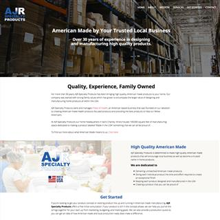 AJR Specialty Products Website