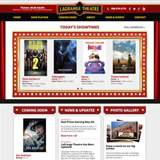 LaGrange Theatre - Website