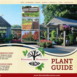Hinsdale Nurseries - Plant Guide Cover