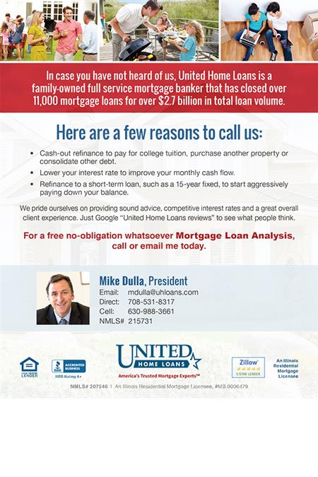 Mortgage Company Postcard