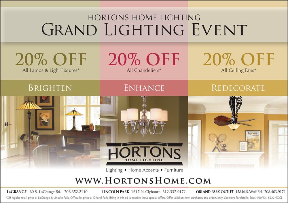 Hortons Grand Lighting Event Ad