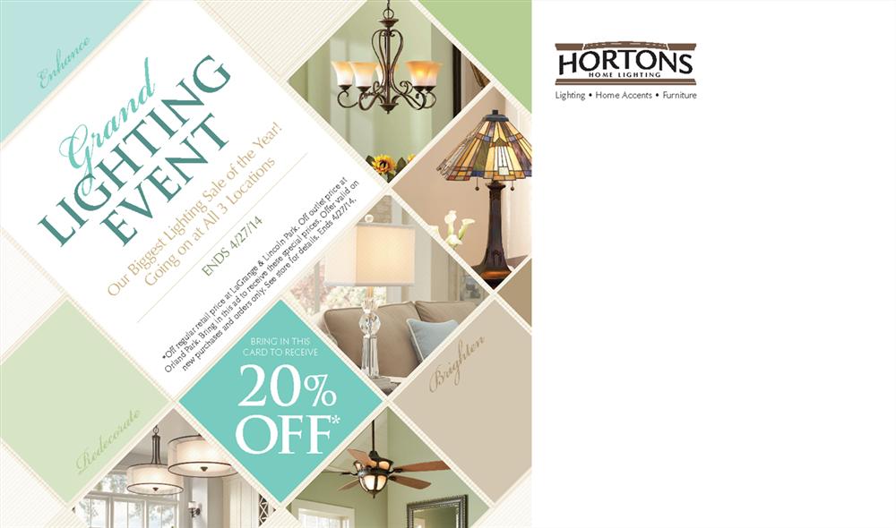 Our Portfolio Hortons Home Lighting Event Campaign Jet