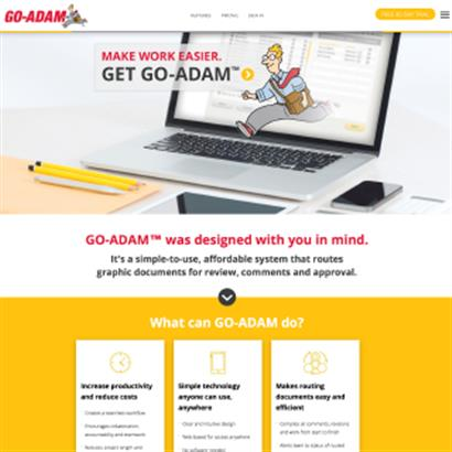Go-Adam - Website