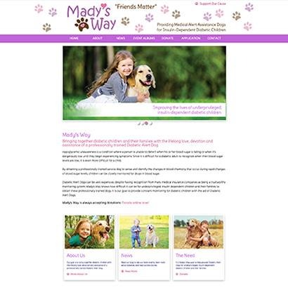 Mady's Way - Website
