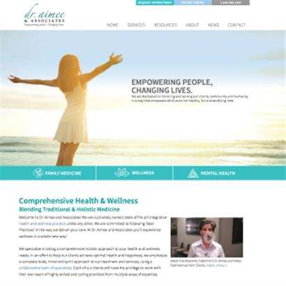 Dr Aimee and Associates - Website