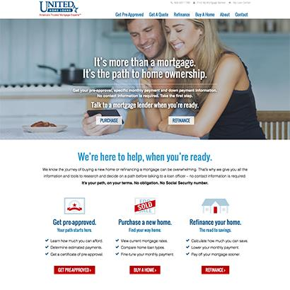 United Home Loans - Website