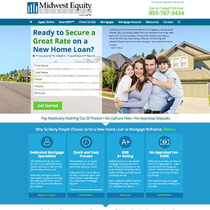 Midwest Equity Mortgage - Website