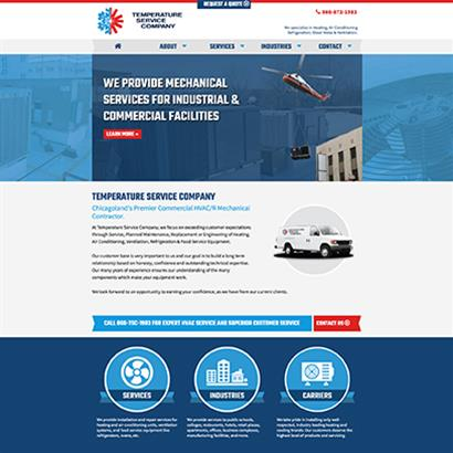 Temperature Service Company - Website