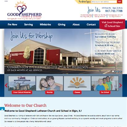Good Shepherd Church and School - Website