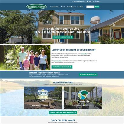 Bigelow Homes - Website